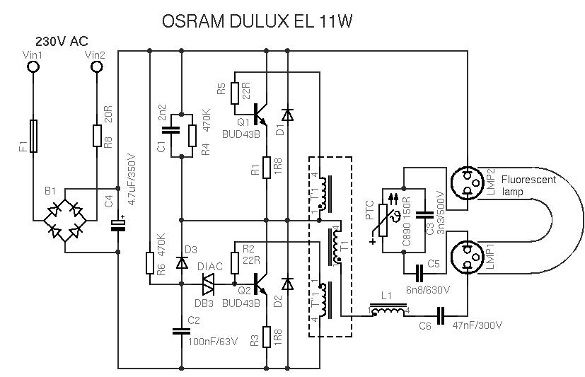 Схема включения лампы g23 фото 809